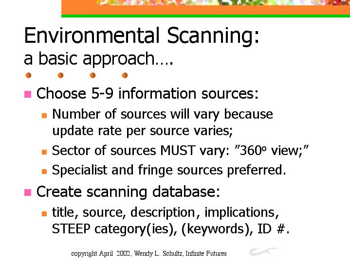 environmental scan paper essay Environmental scan paper introduction conducting an environmental scan of  various companies will examine the internal and external  the environmental  scan will provide clarity to the internal and external  eth316 week 1 ethics  essay.